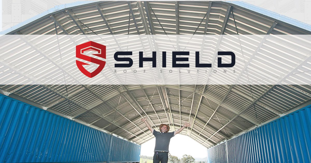 Podroof Shipping Container Roof Kits By Shield