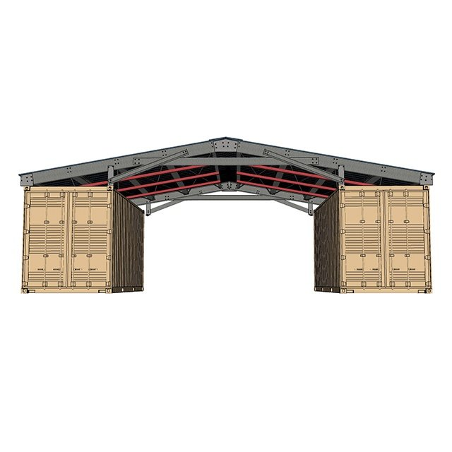 container roof kit