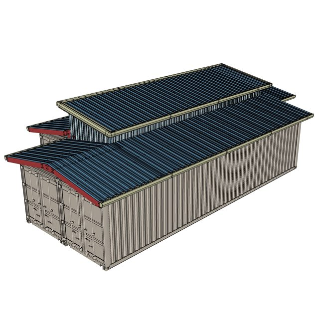 Shield Podroof Shipping Container Roof Kits By Shield